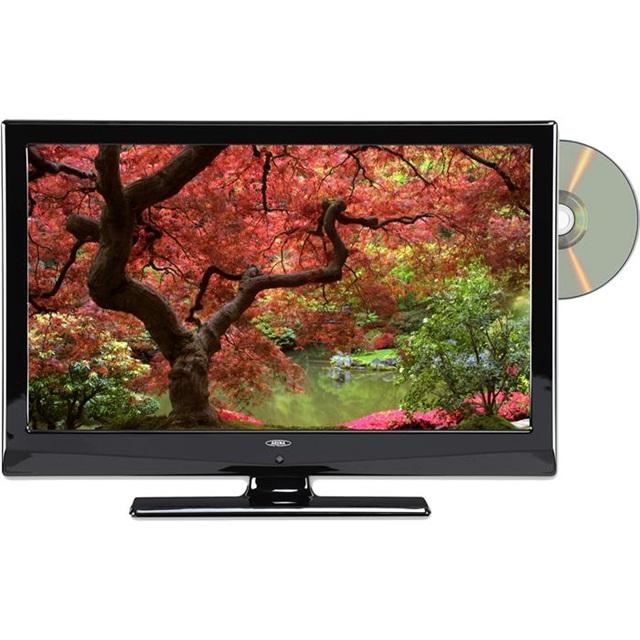 Fin TV med indbygget DVD: 2 fladskærme der sparer plads RH-14