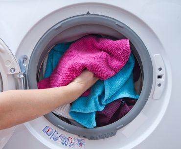 Vaske-tørremaskine Test