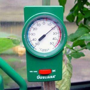 Juliana-Drivhus-Termometer