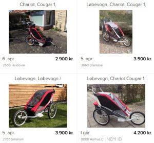 Cykelanhaenger-Brugt