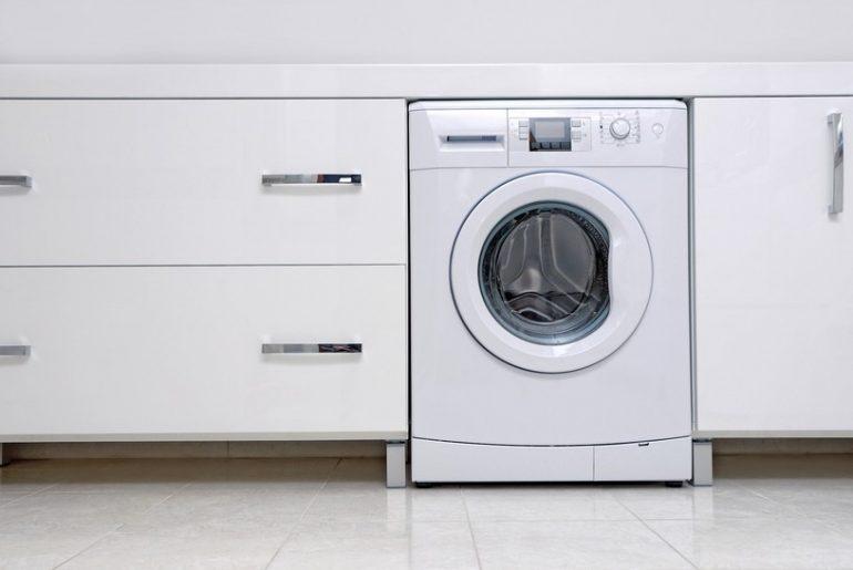 Smal vaskemaskine