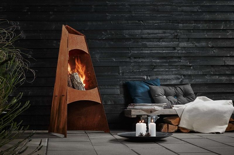 Havepejs - 12 flotte idéer til hyggelig varme på terrassen
