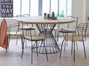 Rundt spisebord - 14 lækre borde til spisestuen