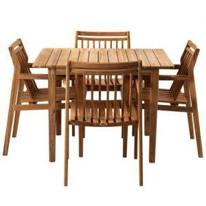 havemøbler teak Teak havemøbler   12 rustikke sæt med borde og stole i massiv teak havemøbler teak