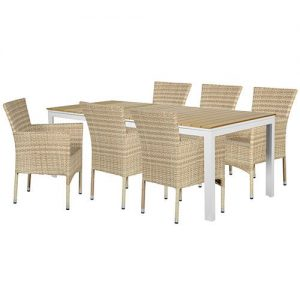 Storslået Polyrattan havemøbler - 15 flotte og vedligeholdelsesfrie sæt OK77