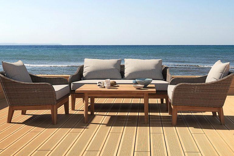 Loungesæt havemøbler | 18 flotte loungesæt til haven i 2020