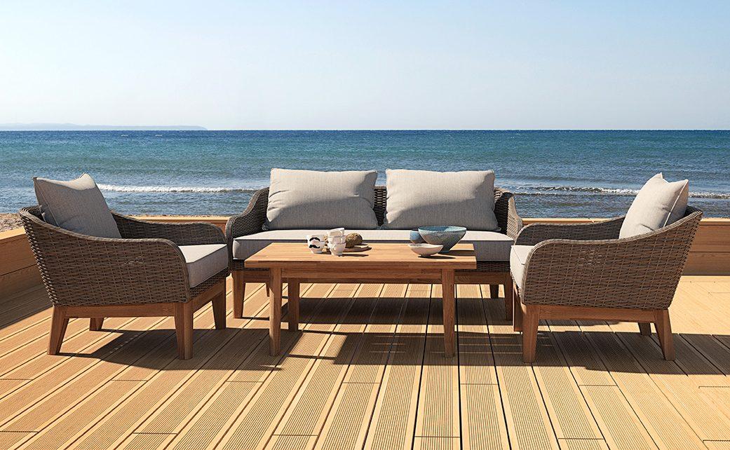 Loungesæt - 16 komplette sæt til hyggelig afslapning udendørs