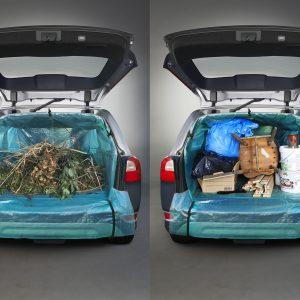 Hold bilen ren med denne geniale bagagerumsbeskytter