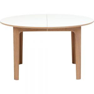 ovalt bord med udtræk