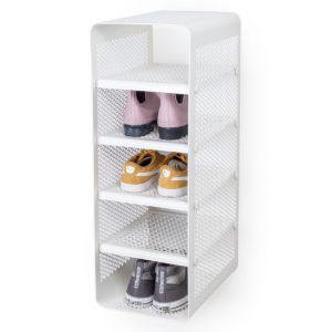 Skoreol 19 af de bedste reoler til sko til entré eller