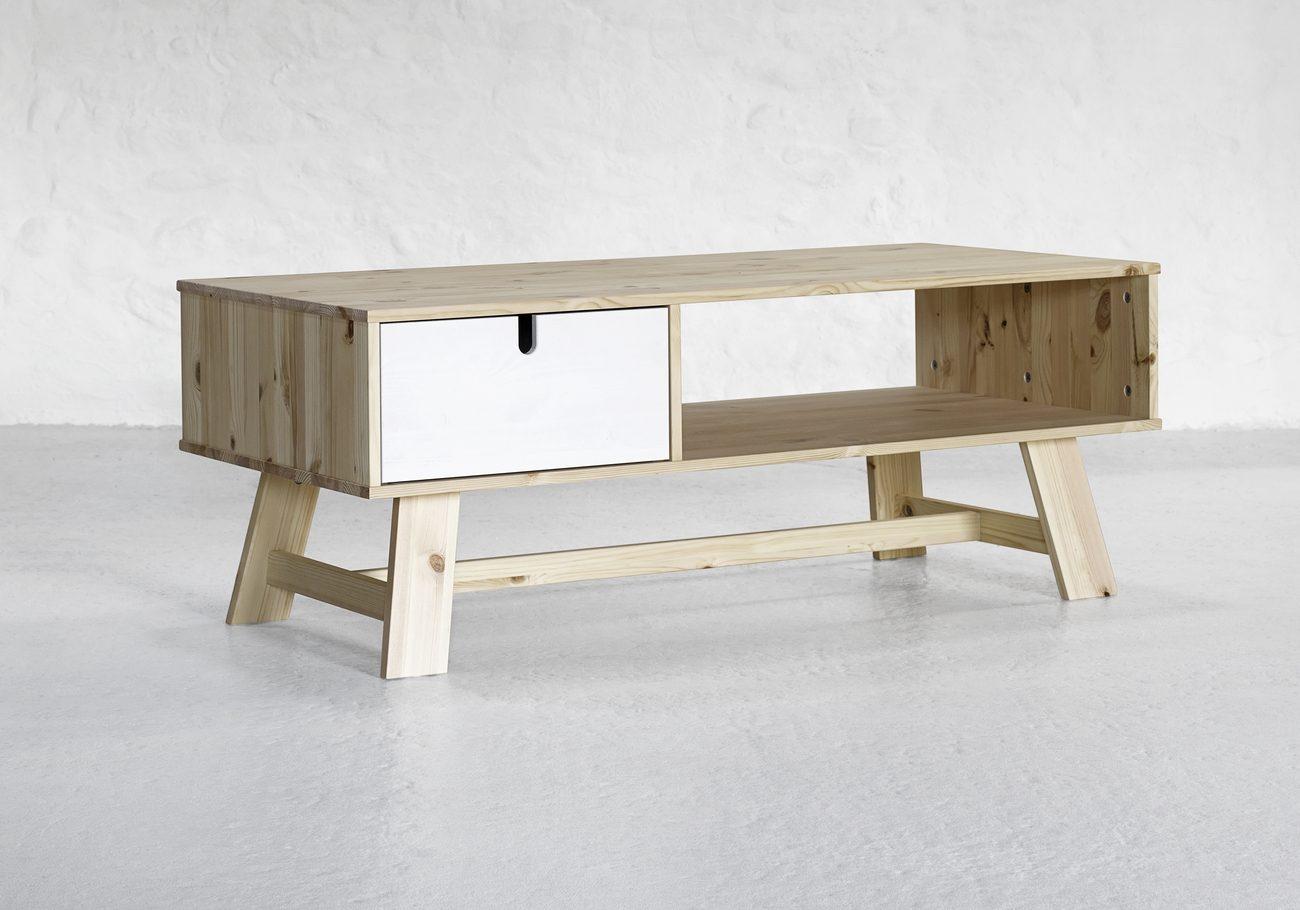 Picture of: Sofabord Med Hylde 25 Smarte Borde Med Opbevaringsplads