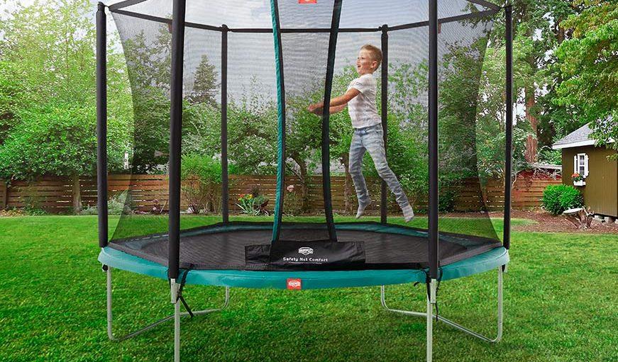 Ypperlig Lille trampolin - her er 4 af de bedste små trampoliner til haven QP-25