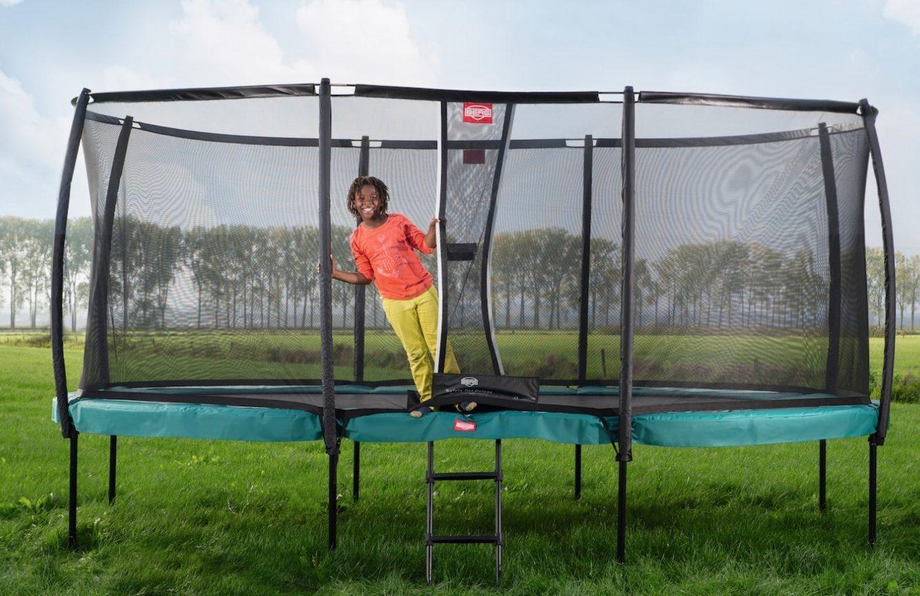 Rask Stor trampolin - her er 7 af de bedste store trampoliner til haven OY-19