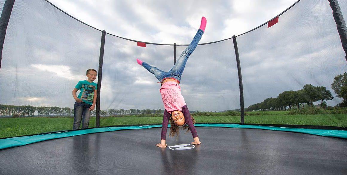 Moderne Trampolin Test (2019) • Her er de 2 bedste trampoliner lige nu → VQ-64