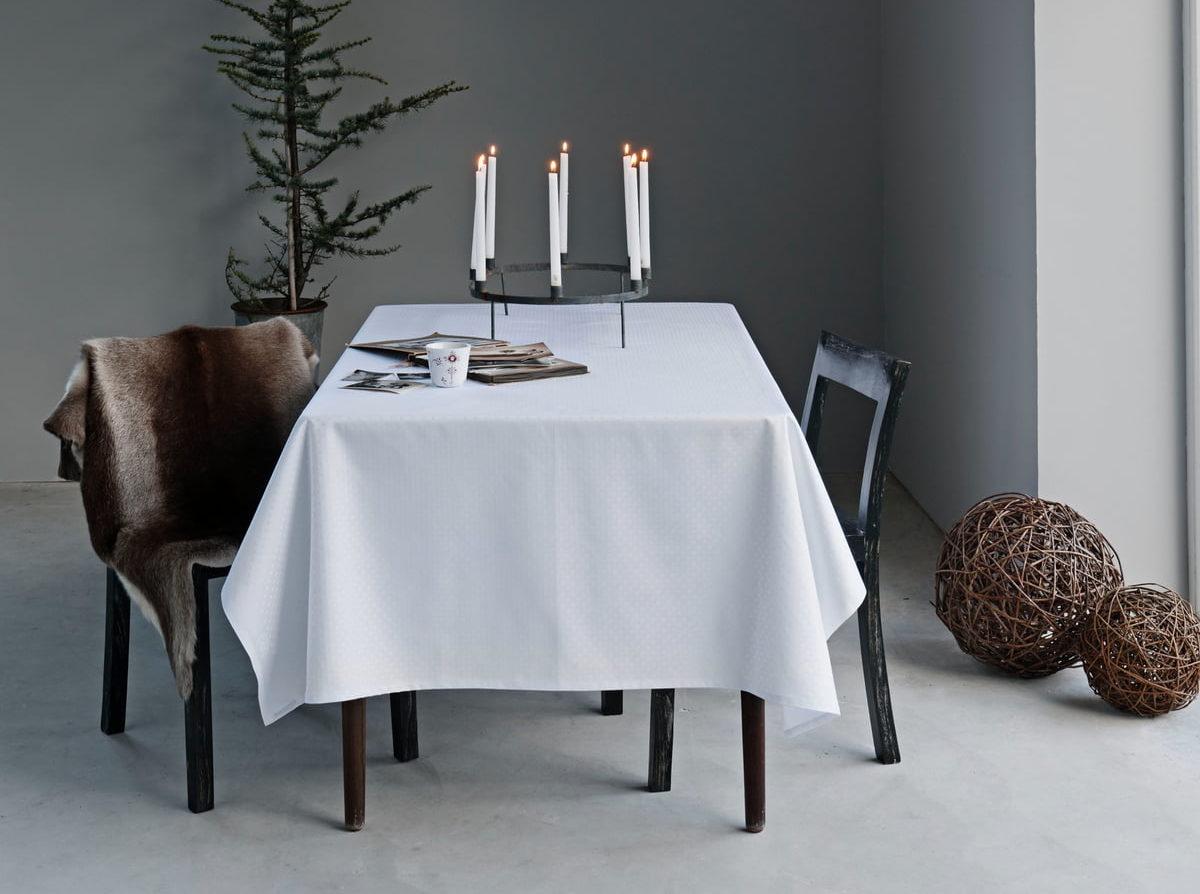 Alvorlig Hvid dug: 9 af de flotteste hvide og lyse duge til spisebordet FN86