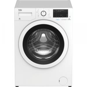 BEKO WTE 6736 BBW - Frontbetjent vaskemaskine med dampprogram