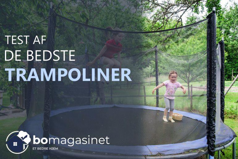 Bedste trampoliner
