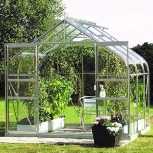 Diana drivhus rundbuet design