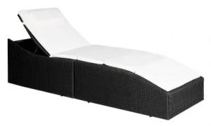 Foldbar liggestol med hynde