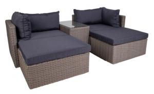 House Nordic Rossi – stilet loungesæt med høj komfort