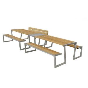 Plus Zigma stort bord-baenkesaet (185701-3+185700-3+18573-1) laerk 185706-3