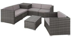 Polyrattan loungesæt