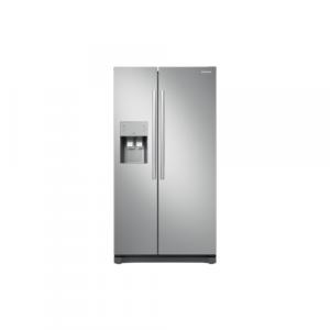 Samsung RS50N3403SA - Amerikanerkøleskab med døralarm i energiklasse A+