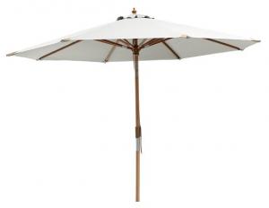 Paris Parasol - en smuk og hvid parasol