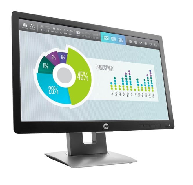 HP EliteDisplay E202 testvinder