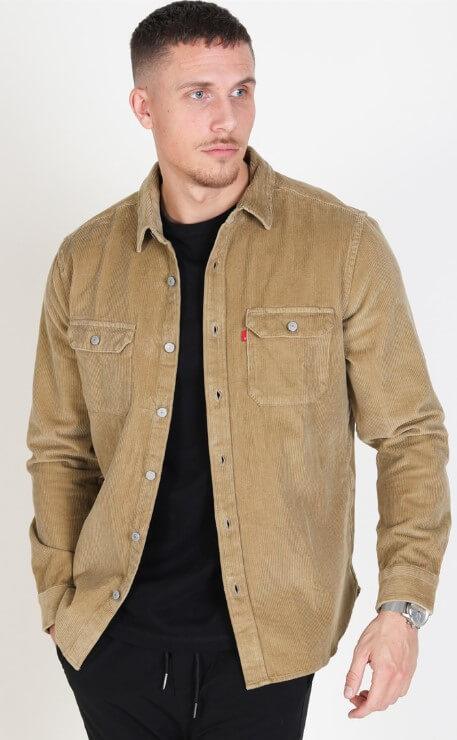 Levi's Jackson Worker Skjorte Harvest Gold Cord