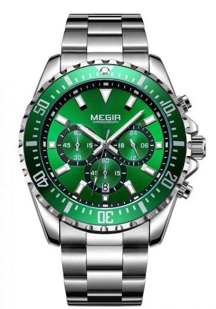 Megir Aviator Steel&Green