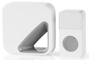 Batteridrevet trådløst dørklokkesæt – 85 dB – Unikt design