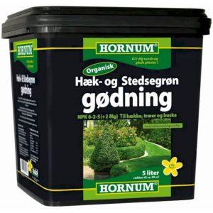 Hæk- og Stedsegrøngødning 5 liter – til hækken