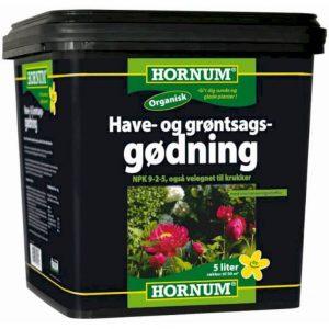 Have - og grøntsagsgødning 9-2-5, organisk – Til grøntsags-haven