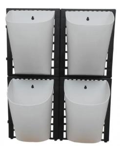 Havekrukker i plast – praktiske til altanen
