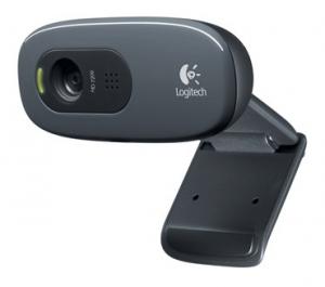 Logitech HD-webcam C270 1280x720 til onlinemøderne