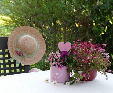Få inspiration til smukke havekrukker, der pryder din have eller altan