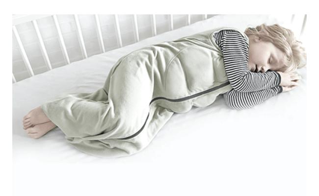 Tyngdeposen sovedragt til spædbørn
