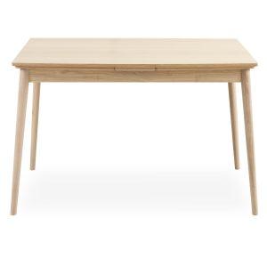 Curve spisebord – Elegant, lyst egetræbord