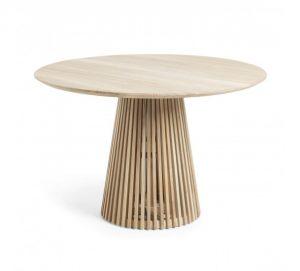 LaForma Irune spisebord – Arkitektonisk vidunder i lys teak