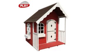 Nordic Play Legehus med veranda