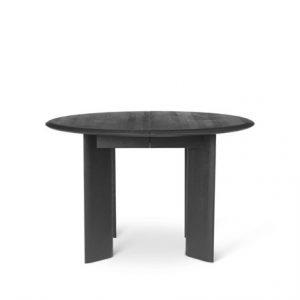 Bevel spisebord – Mørkt, massivt træbord