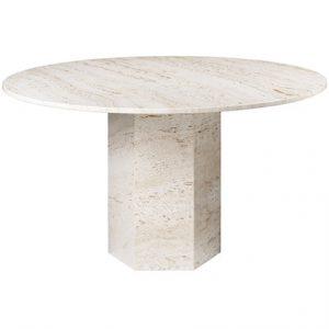 Gubi Epic spisebord – Lyst, eksklusivt stenbord