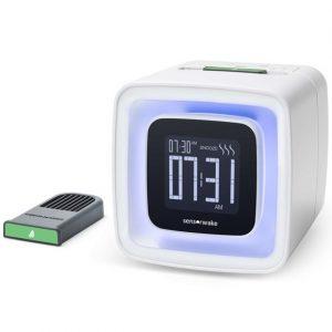 Sensorwake vækkeur med lys – aromatisk oplevelse