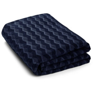 KUBUS sengetæppe, Navy Blazer – Georg Jensen-sengetæppe