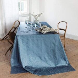 ARNE JACOBSEN-damaskdug Deep Ocean Damaskdug fra Arne Jacobsen med et klassisk look