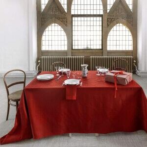 JULEDUGEN Deep Red Den klassiske og tidløse juledug