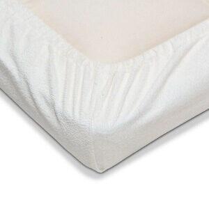 Nsleep vådliggerlagen til juniorsenge Et blødt vådliggerlagen produceret med GOTS bomuld samt kapok-fibre
