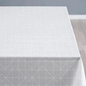 Södahl Organic Refined Damask Dug Moderne damaskdug i hvid